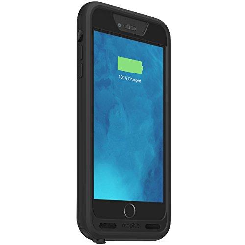 【日本正規代理店品・保証付】mophie juice pack H2PRO for iPhone 6s Plus/6 Plus 防水バッテリー内蔵ケース (2,950mAh) ブラック MOP-PH-000137