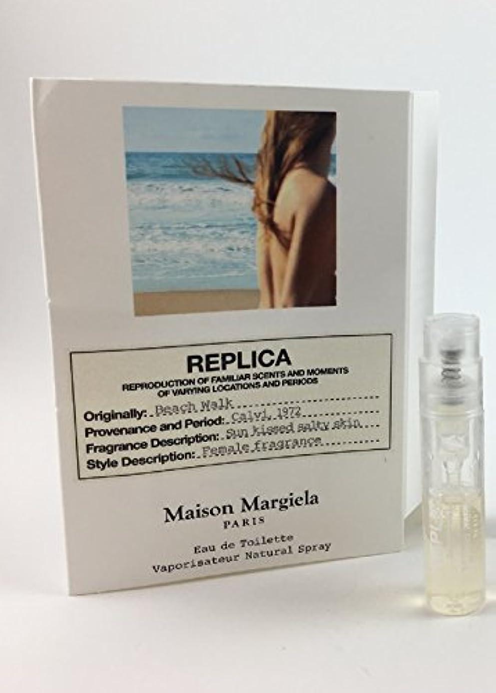 れる敬の念オーラルReplica - Beach Walk (レプリカ - ビーチ ウォーク) 0.05 oz/ 1.5 mL Fragrance Sample (メーカーサンプル) for Women