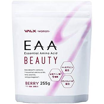 EAA BEAUTY Produced by 山本義徳 255g ベリー風味 必須アミノ酸 女性 サプリ 筋トレ ベータアラニン ピクノジェノール 配合