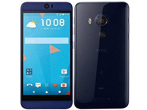 au HTC J butterfly HTV31 Indigo 白ロム