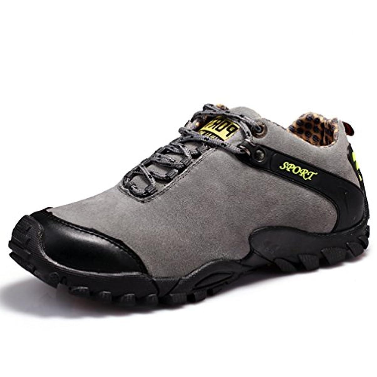 シーケンスどうやって退屈[ドリーマー] トレッキングシューズ メンズ 滑り止め 登山靴 ハイキングシューズ クライミング クッション性 耐磨耗 履きやすい 歩きやすい 撥水加工 ローカット スポーツ クライミング ウオーキング クライミング オシャレ