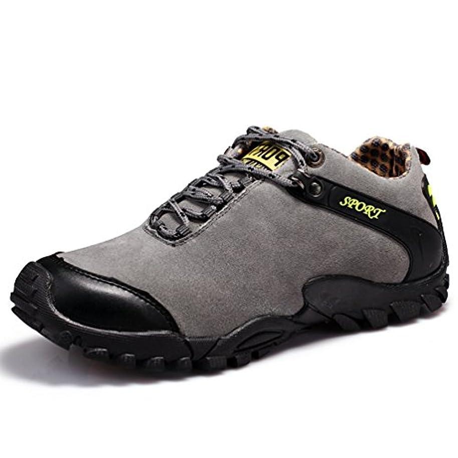 打ち負かす力強い政令[ドリーマー] トレッキングシューズ メンズ 滑り止め 登山靴 ハイキングシューズ クライミング クッション性 耐磨耗 履きやすい 歩きやすい 撥水加工 ローカット スポーツ クライミング ウオーキング クライミング オシャレ