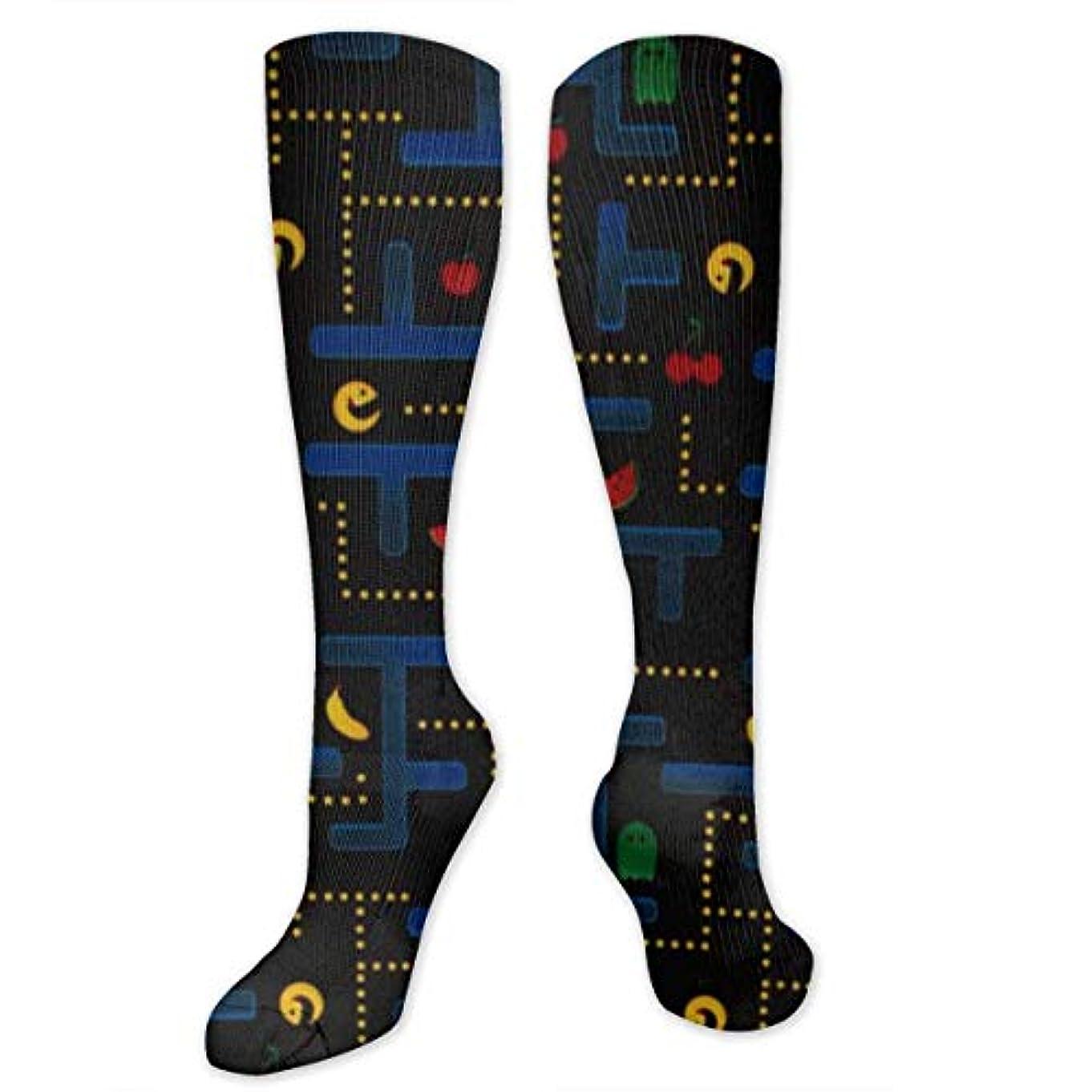 サッカー今ぎこちない靴下,ストッキング,野生のジョーカー,実際,秋の本質,冬必須,サマーウェア&RBXAA Video Game Black Socks Women's Winter Cotton Long Tube Socks Cotton...