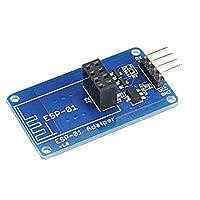 ESP8266シリアルWi-FiワイヤレスESP-01アダプタモジュール3.3V 5V Arduino対応