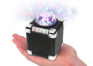 ION AUDIO アイオンオーディオ / Party ON ミラーボール付 ワイヤレスポータブルスピーカー Bluetooth対応 IA-SRI-010