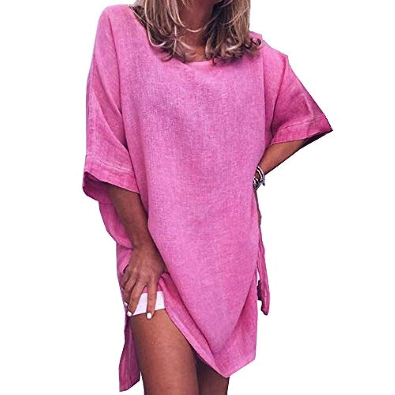 パフうめき扇動するMIFAN サマードレス、ビーチドレス、ルーズドレス、プラスサイズ、リネンドレス、トップス&ブラウス、女性ドレス、カジュアルドレス