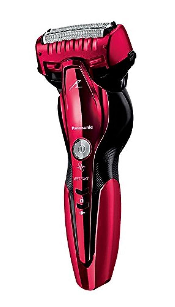 団結する気づくなる線形パナソニック ラムダッシュ メンズシェーバー 3枚刃 お風呂剃り可 赤 ES-ST6Q-R
