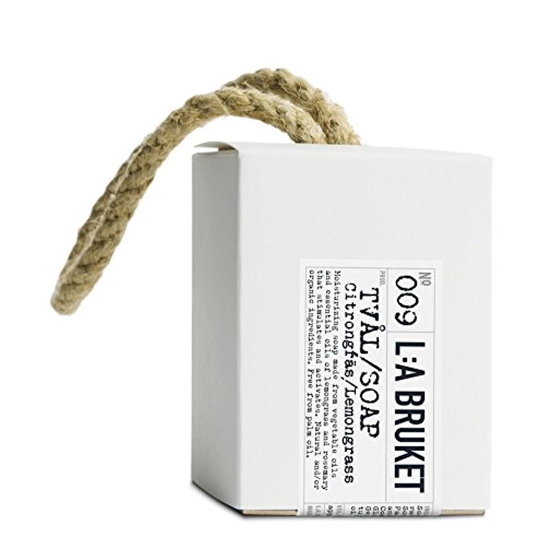 計画的偶然のハンディL:A Bruket Lemongrass Soap on a Roap 240g - :の240グラムののレモングラス石けん [並行輸入品]