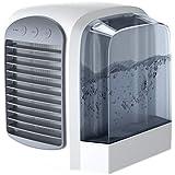 [Tienpy] 卓上扇風機 冷風扇 扇風機高品質3段階風量調節 USB充電式 軽量 携帯性 熱中症と暑さ対策 上下角度調整可能 冷蔵 加湿 空気浄化 霧化式冷風機
