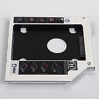 dy-tech 2nd SATAハードドライブHD SSDエンクロージャCaddyアダプタfor Acer 5810tg 5820tg 5830tg