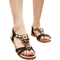 Start Women's Summer Bohemia Ful Bead Sandals Shoes