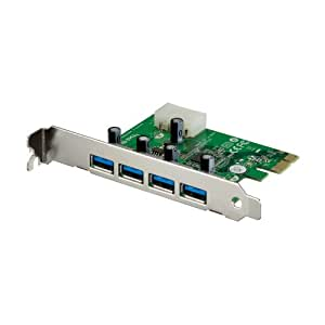 PLANEX 増設ボード(USB4ポート) USB3.0対応 PCI Express x1(Rev.2)対応 FFP-US3PE4 (FFP)