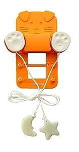 スマイルキッズ こども用 電気スイッチ こどもスイッチ2 オレンジ ACS-03