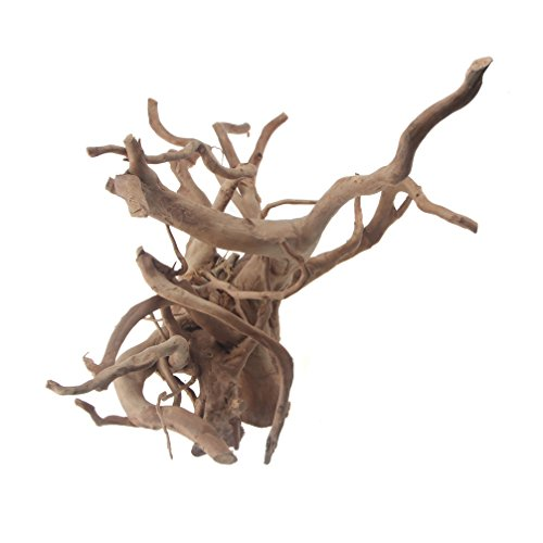 Emours 自然流木天然流木 水族館シンクエイブル流木水槽の装飾自然 流木 アクアリウム 内装 水景 アイテム ...