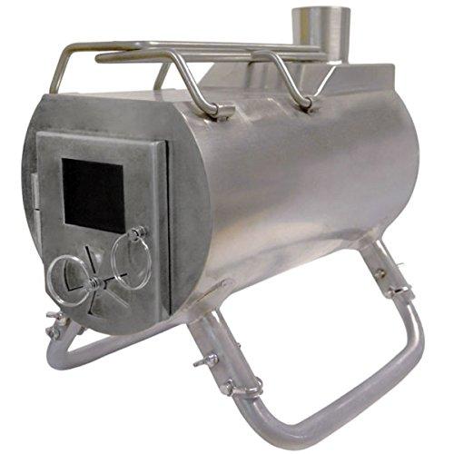 G-Stove Heat View 薪ストーブ本体+スパークアレスター+ダンパー付き煙突3点セット