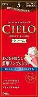 シエロ ヘアカラー EX クリーム 5 ブラウン × 3個セット