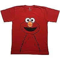 【並行輸入品】SESAMI STREET/セサミストリート Elmo/エルモ プリントTシャツ ムービーTシャツ キャラクターTシャツ アニメキャラTシャツ レッド Sサイズ Mサイズ Lサイズ 男女兼用 ~Lサイズは短めワンピースとしても人気~