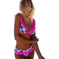 SMTSMT Women Sexy Bikini Set Swimwear Push-Up Swimsuit Beachwear