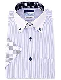 [アイシャツ] i-shirt 完全ノーアイロン ストレッチ 超速乾 半袖 アイシャツ ワイシャツ メンズ