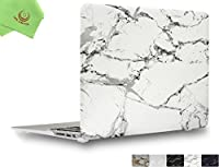 "UESWILL ハードシェルケースカバー 艶消しフロスト加工 滑らかソフトな手触り MacBook Air 11 13インチ用 マイクロファイバークリーニングクロス付き MacBook Air 11"" UES01MB11A1-02"