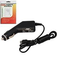 HQRP車充電器for Sony Handycam hdr-sr10hdr-sr10d - sr11カムコーダー旅行アダプタシガレットライターPlus Hqrp LCDスクリーンプロテクター