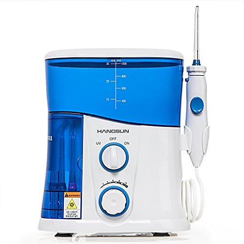 ハングサン 口腔洗浄器 ジェット ウォッシャー UV除菌機能付き HOC300 クラス最大水圧758Kpa 1000mL容量