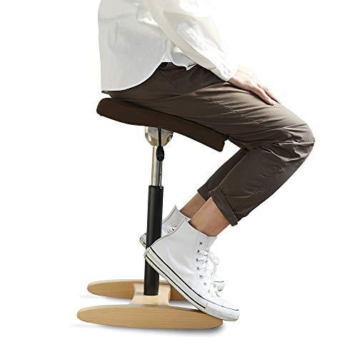 バランスシナジー スクエア 通常 Dブラウン 腰痛対策 姿勢改善 椅子 バランスチェア 大人用