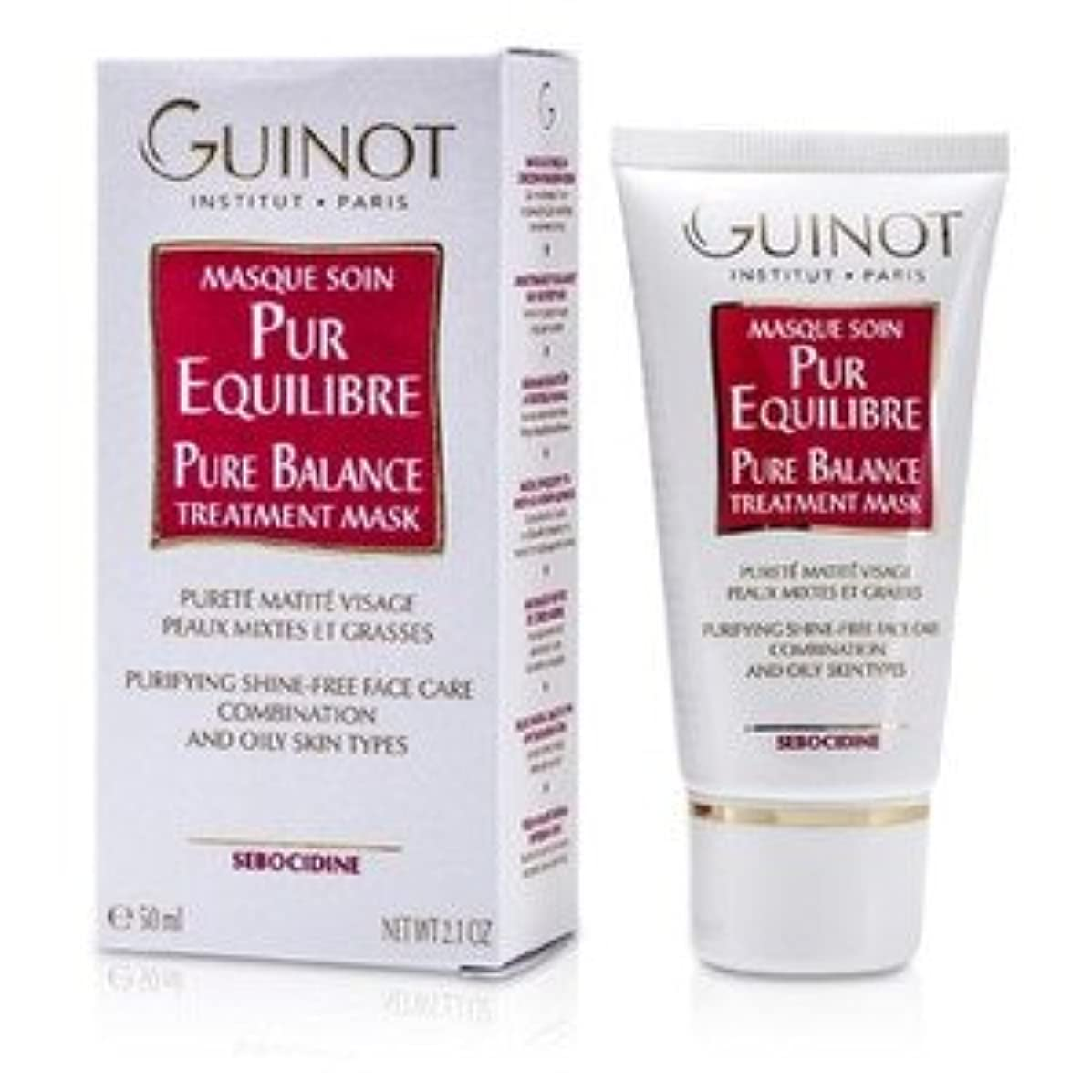 暴動リスク浸すGuinot Pure Balance Mask for C/Oily Skin 50ml/1.7oz [並行輸入品]