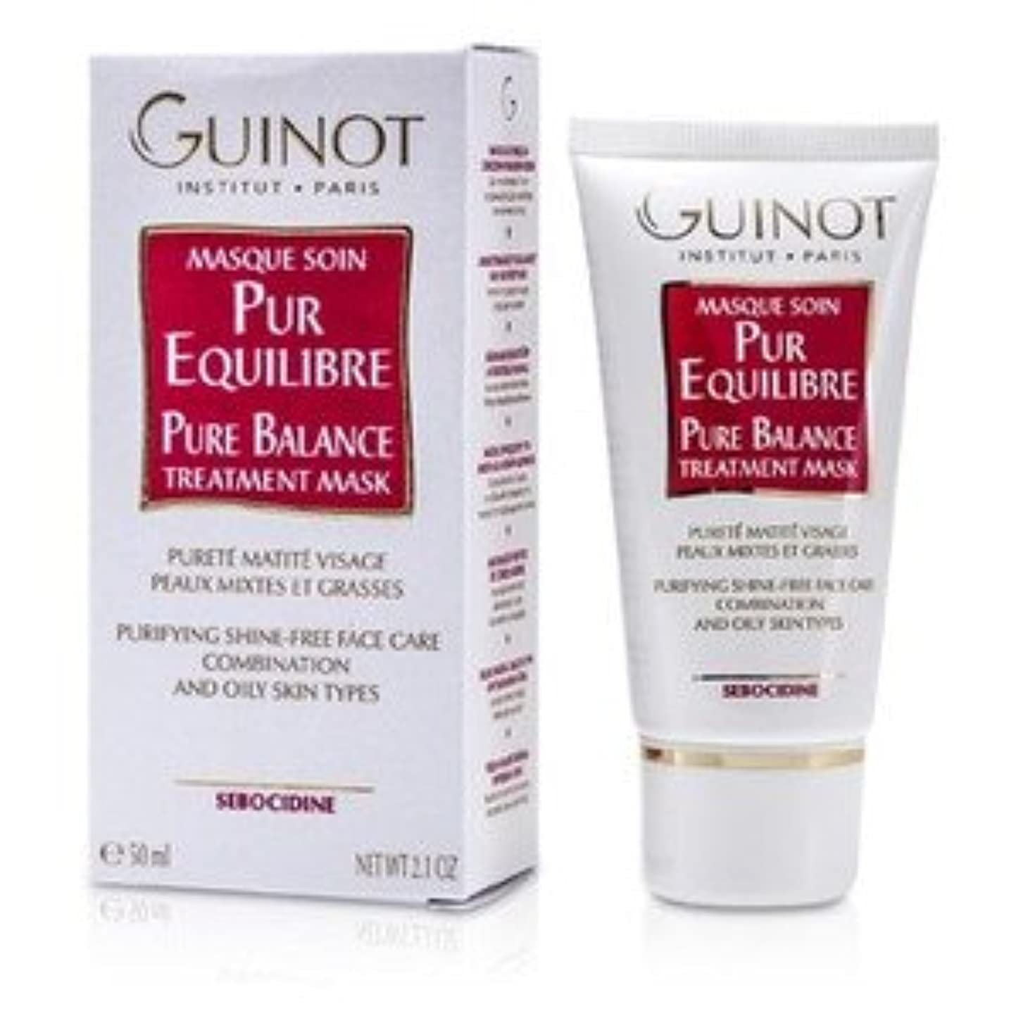 哲学雄弁コモランマGuinot Pure Balance Mask for C/Oily Skin 50ml/1.7oz [並行輸入品]