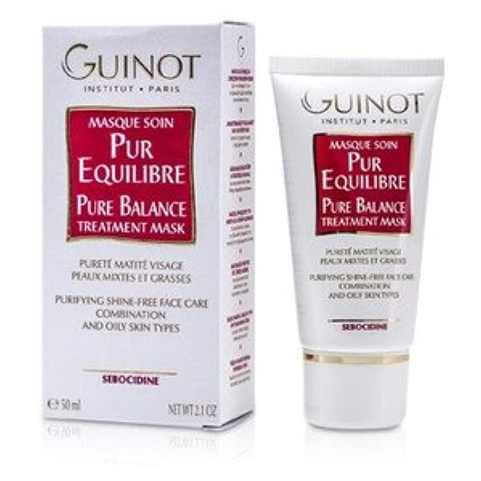 Guinot Pure Balance Mask for C/Oily Skin 50ml/1.7oz [並行輸入品]
