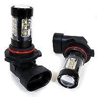 スカイライン LEDフォグランプ HB4 80W 2個セット フォグ ホワイト バルブ