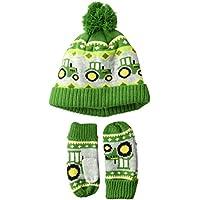 John Deere Boys Winter Cap Cold Weather Hat Toddler Green
