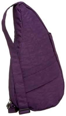 ヘルシーバックバッグ(HEALTHY BACK BAG) 【肩への負担を減らした体に優しい】ヘルシーバックバッグ(テクスチャードナイロン)【パープル/**】