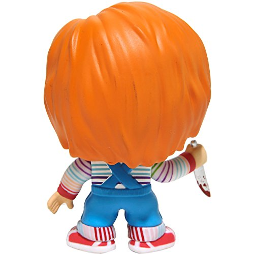 Chucky ( Hot Topic Exclusive ) : Funko POP 。Horror Movies x Child 's Playビニールフィギュア+ 1 Freeクラシックホラー& SF映画Tradingカードバンドル( 087494 ) Funko