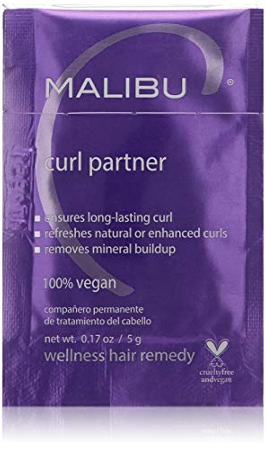 偽造依存うがいMalibu C Curl Partner Wellness Hair Remedy 12x5g/0.17oz並行輸入品