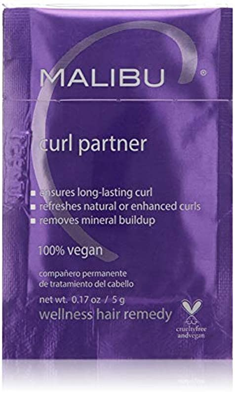 純度ガラガラ幸運なMalibu C Curl Partner Wellness Hair Remedy 12x5g/0.17oz並行輸入品