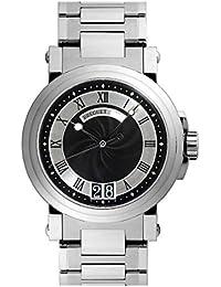 [ブレゲ] BREGUET 腕時計 マリーン2 ラージデイト 5817ST/92/SMO ブラック メンズ 新品 [並行輸入品]