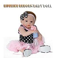 生命のようなリボーンベビードール Wokasun 55cm 新生児人形 キッズ 男の子 プレイメイト 誕生日 クリスマスギフト