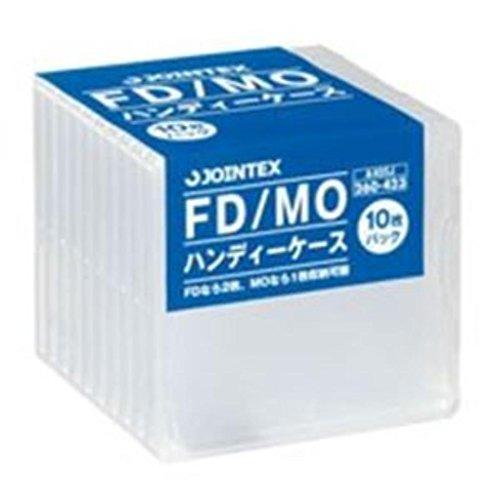 (まとめ買い)ジョインテックス FD/MOケース 10枚入 A405J 【×10セット】