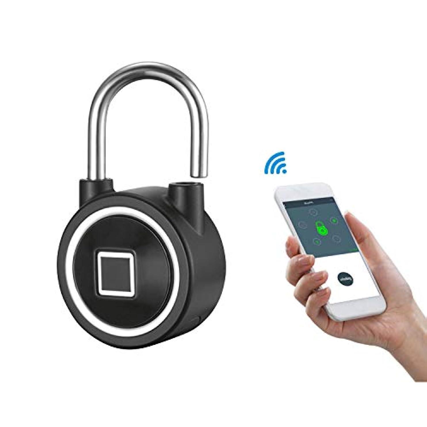 真夜中優雅ロマンス電子鍵盤、スマートBluetooth指紋認証、ドア倉庫ドア管理、リモートロック解除パスワードロック