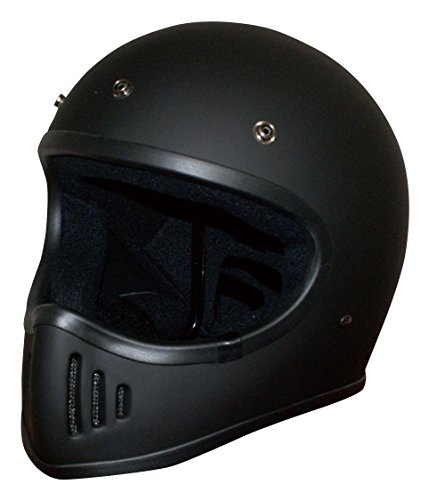 ダムトラックスDAMMTRAX バイクヘルメット フルフェイス BLASTER - 改 マットブラック Lサイズ 59-60cm -
