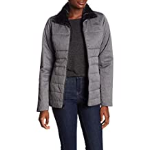The North Face Women's Harway Reversible Puffer Coat Dark Grey XS