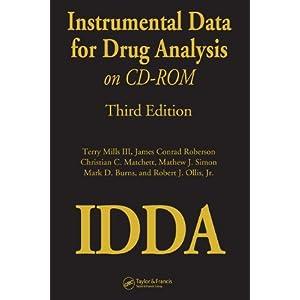 Instrumental Data for Drug Analysis on CD-Rom