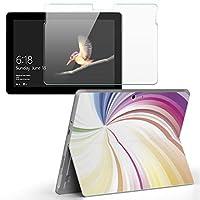 Surface go 専用スキンシール ガラスフィルム セット サーフェス go カバー ケース フィルム ステッカー アクセサリー 保護 クール カラフル シンプル 002113