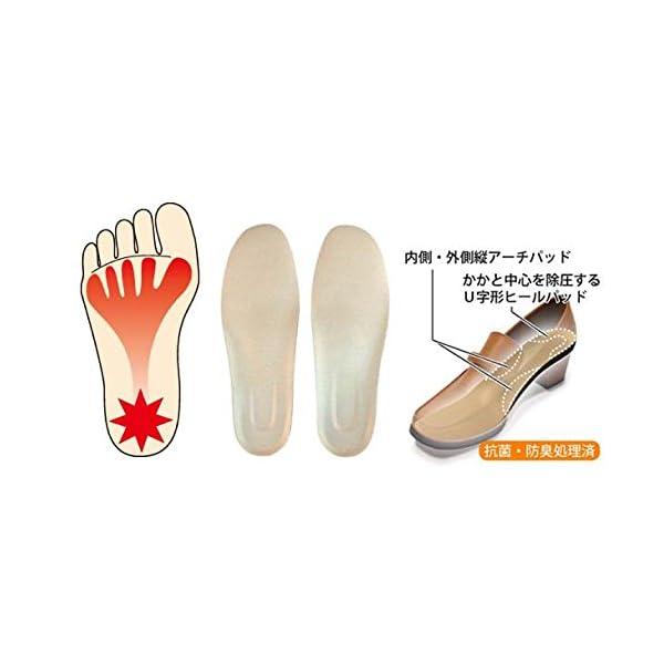 インソールプロ 足底筋膜炎対策 レディスの紹介画像2