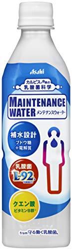 メンテナンスウォーター from 守る働く乳酸菌 490ml ×24本