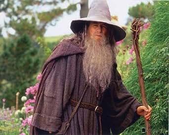 ブロマイド写真★『ロード・オブ・ザ・リング』ガンダルフ(イアン・マッケラン)/帽子を被り、杖を持つ