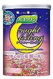 【セット品】バスクリン ナイトフィーリング 気分まどろむ夢心地の花畑の香り 600g 入浴剤 (医薬部外品) 2個セット