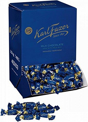 Karl Fazer カール・ファッツェル ミルクチョコレート バルク 3 kg 一箱 フィンランドの有名なお菓子です [並行輸入品]