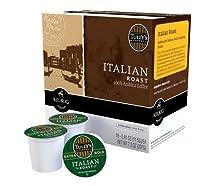 KEURIG Kカップ Tully's (タリーズ) イタリアンロースト 18個入り×2箱セット【並行輸入品】